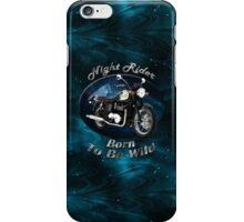 Triumph Bonneville Night Rider iPhone Case/Skin