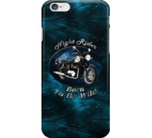 Triumph Bonneville Night Rider iPhone Case/Skin