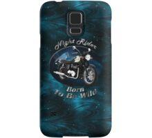 Triumph Bonneville Night Rider Samsung Galaxy Case/Skin