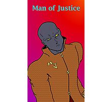 Man of Justice  Photographic Print