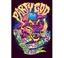 PARTY GOD Photographic Print