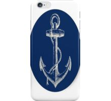 Retro Anchor iPhone Case/Skin