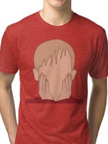 Kevin Mccallister, Home Alone Faceless Tri-blend T-Shirt