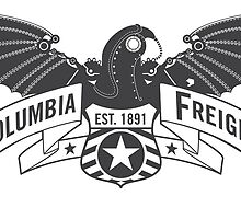Bioshock Infinite - Columbia Freight (Dark Gray) by PixelStampede
