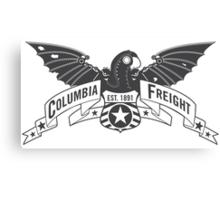 Bioshock Infinite - Columbia Freight (Dark Gray) Canvas Print