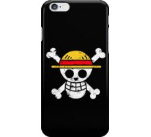 Strawhat Jolly Roger iPhone Case/Skin