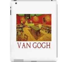 Night Cafe with Billiard Table by Vincent Van Gogh iPad Case/Skin