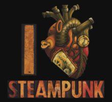 I Heart Steampunk T-Shirt