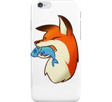 Red Fox B iPhone Case/Skin