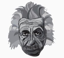 Einstein Quote Typography One Piece - Long Sleeve