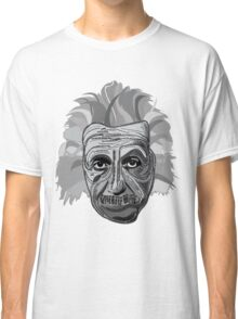 Einstein Quote Typography Classic T-Shirt