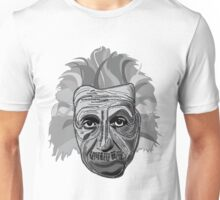 Einstein Quote Typography Unisex T-Shirt