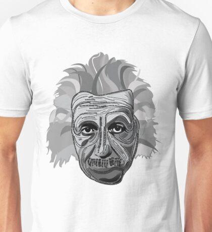 Einstein Quote Typography Unisex T-Shirt