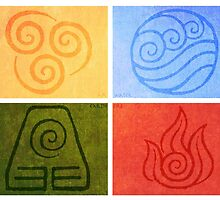 Avatar the Last Airbender - Elements by kikodave