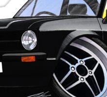 Ford Escort (Mk2) Mexico Black Sticker