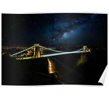 Clifton Suspension Bridge. Poster