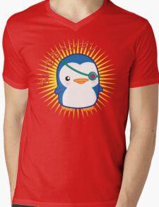 Lil penguin Mens V-Neck T-Shirt