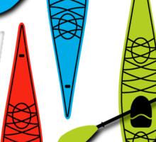 Kayaks Sticker