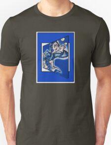 blue boy runnin' T-Shirt