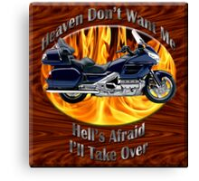 Honda Gold Wing Heaven Don't Want Me Canvas Print