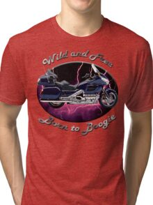 Honda Gold Wing Wild and Free Tri-blend T-Shirt