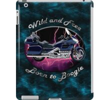 Honda Gold Wing Wild and Free iPad Case/Skin