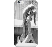 Winter Love - Central Park Kiss - New York City iPhone Case/Skin