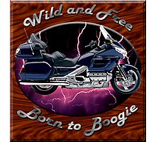 Honda Gold Wing Wild and Free Photographic Print