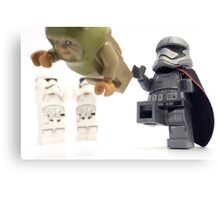 JJ says no ewoks, so get out of our movie Canvas Print