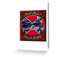 Honda Gold Wing Road Rebel Greeting Card