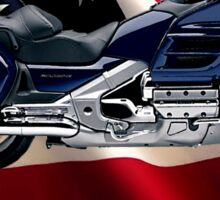 Honda Gold Wing Give Me Liberty Sticker