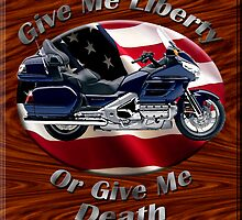Honda Gold Wing Give Me Liberty by hotcarshirts