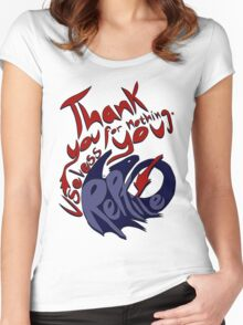 Thank You For Nothing, You Useless Reptile (HTTYD) Women's Fitted Scoop T-Shirt