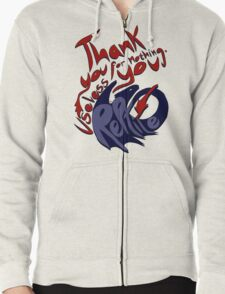 Thank You For Nothing, You Useless Reptile (HTTYD) Zipped Hoodie