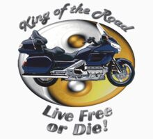 Honda Gold Wing King of the Road One Piece - Short Sleeve