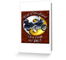 Honda Gold Wing King of the Road Greeting Card