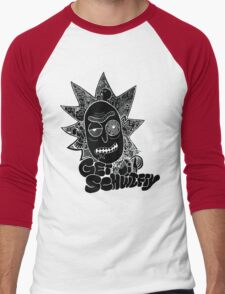 Get Schwifty Invert Men's Baseball ¾ T-Shirt