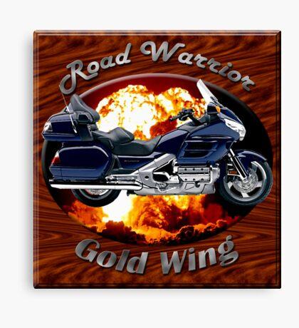 Honda Gold Wing Road Warrior Canvas Print