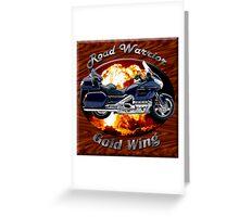 Honda Gold Wing Road Warrior Greeting Card