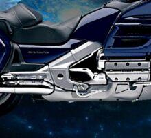 Honda Gold Wing Night Rider Sticker