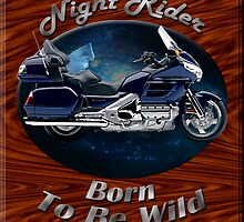 Honda Gold Wing Night Rider by hotcarshirts