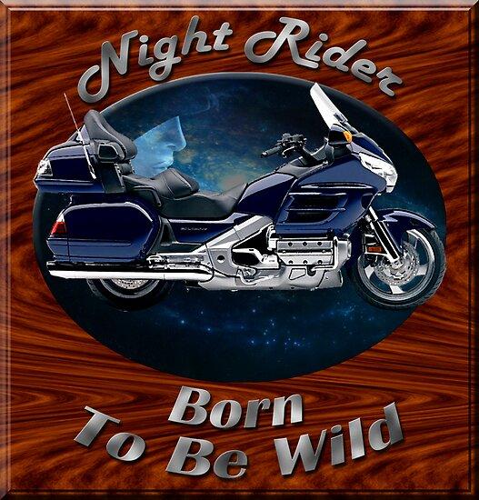 Honda Gold Wing Night Rider by hotcarshirts
