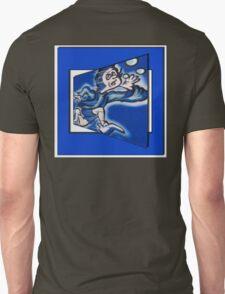 blue boy runnin' (square) T-Shirt