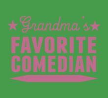 Grandma's Favorite Comedian Kids Tee