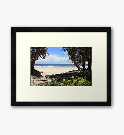 Pathway to Dreamtime Beach  Framed Print