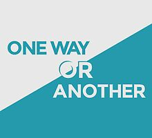 One Way or Another by Redel Bautista