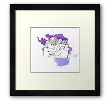 one direction last hug  Framed Print