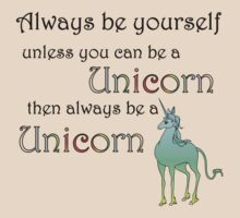 Be a Unicorn by kayllisti
