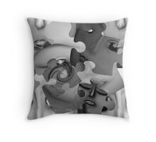 Paradox of Confusion Throw Pillow
