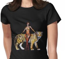 Taming The Beast Womens Fitted T-Shirt